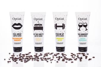 コーヒーを再利用した「Optiat」の天然スクラブで、冬のお肌をしっとりすべすべに磨こう