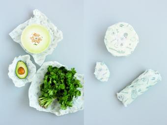 100%天然素材で安心。食材の鮮度を長く保つカナダ製のビーズワックスラップ「abeego」