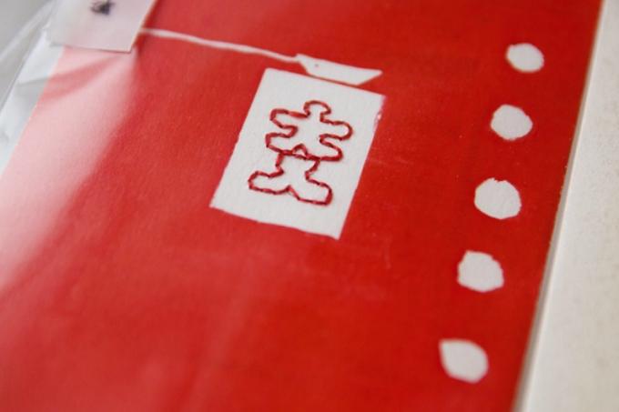 オリジナルデザインが施されたbuchiのポチ袋の写真