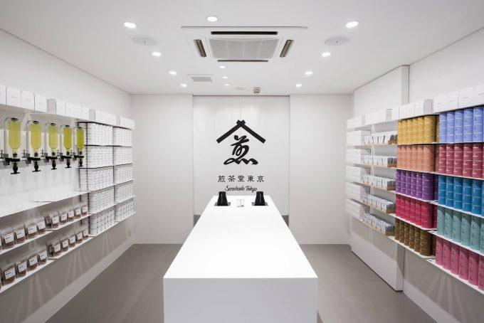 『煎茶堂東京』の店内