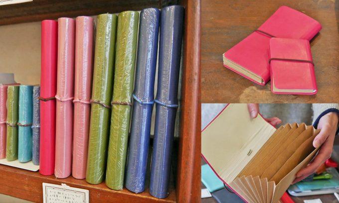 文具店「ハルカゼ舎」で扱っているジャバラ式ファイルの写真