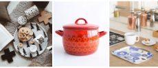 おすすめの北欧キッチン雑貨、鍋や皿などの写真