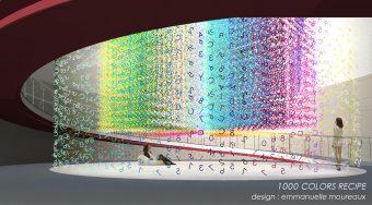 今治タオルの技術で作られた、誰も見たことの無い1000色の世界『IMABARI Color Show』