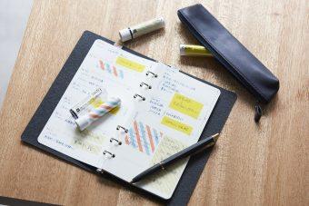 手帳のスケジュール管理でも活躍。おしゃれで使い勝手の良い「カンミ堂」のふせん特集