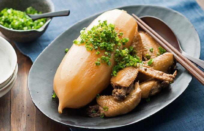 大根と手羽先の煮物のレシピ