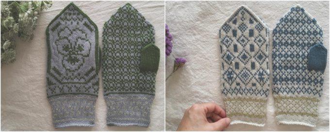 おすすめニット手袋、ベルギー在住の作家さんのミトン