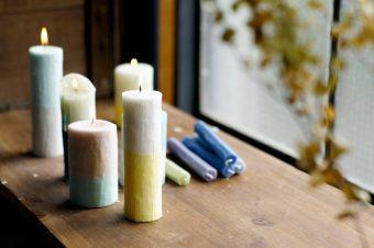 飾るだけで部屋をおしゃれにしてくれるキャンドル「nuri candle」
