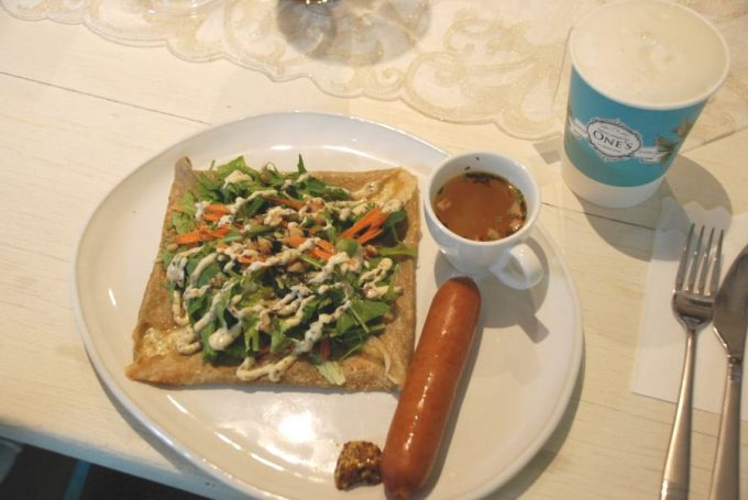 「FRUIT & HERBTEA CAFÉ ONE'S」で提供しているフードの写真