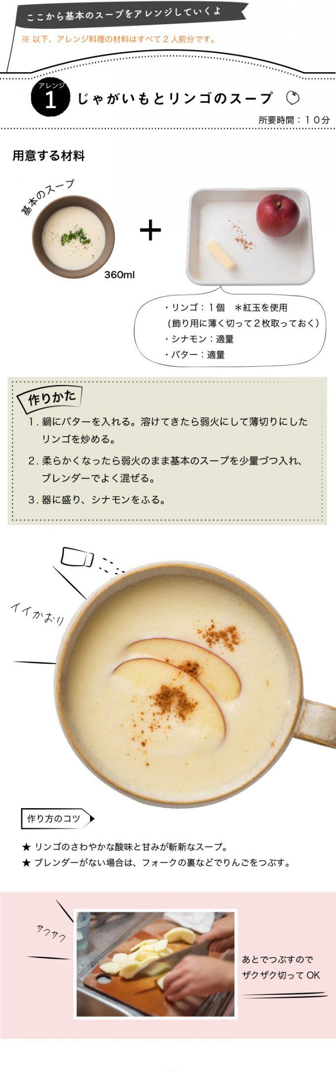 アレンジスープ【牡蠣と蕪のチャウダー風】レシピ