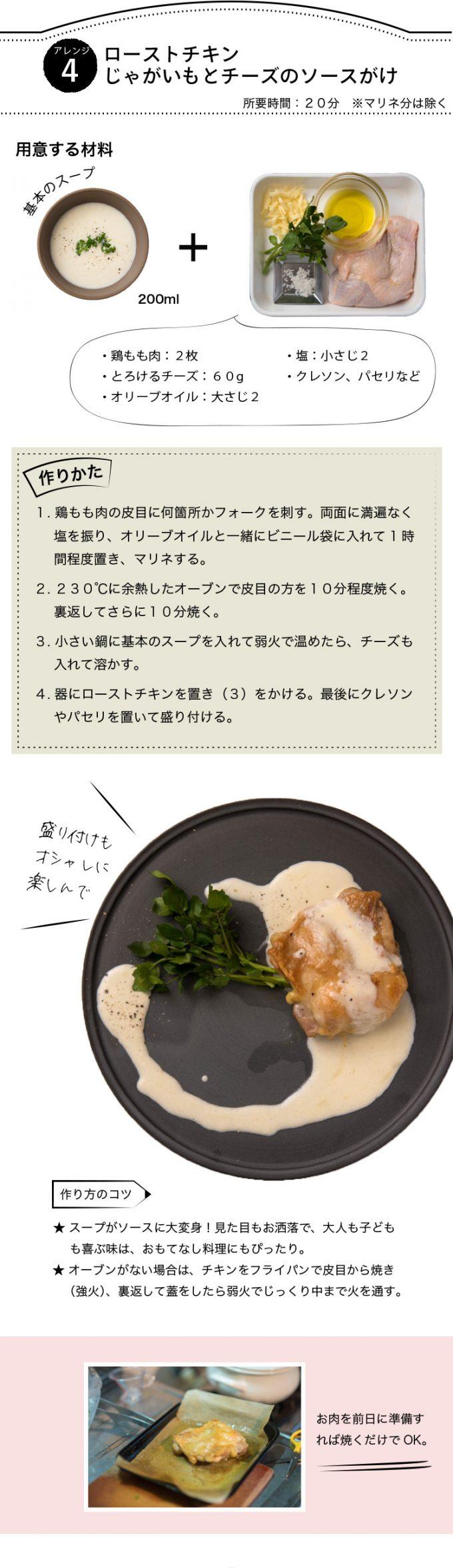 アレンジスープ【ブランダード牡蠣と蕪のチャウダー風】レシピ