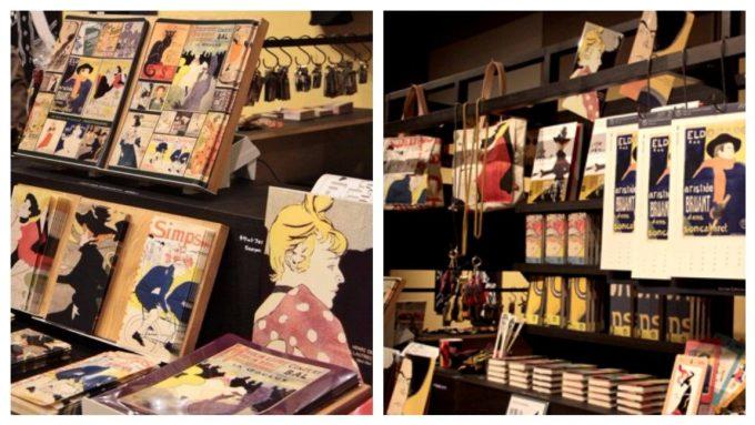 丸の内にある三菱一号館美術館内ミュージアムショップ「Store1845」