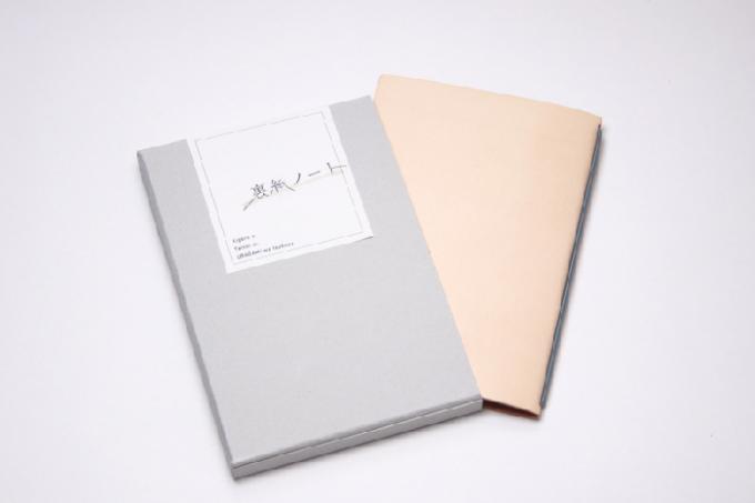 裏紙をノートにできる「裏紙ノート」