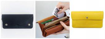 一年のはじめにお財布も新しく。上質で使いやすい「革の長財布」