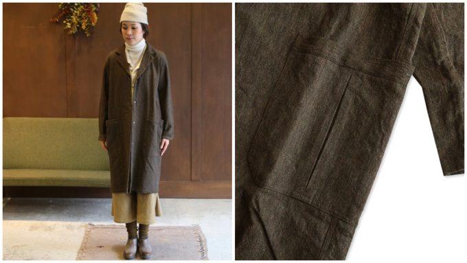 maillot(マイヨ)のコートの写真