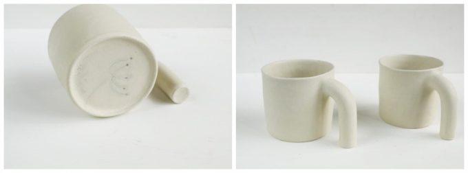 星野友里さんの作品、手びねりのカップ