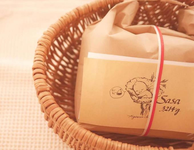 あいがもん倶楽部のお米のパッケージ写真