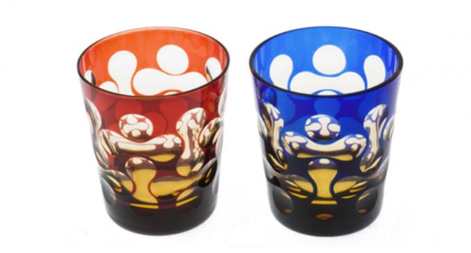 蒲田切子の水鏡シリーズの写真
