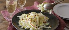生で味わうから、シャキシャキ食感がより楽しめる。白菜がメインのサラダレシピ<2選>