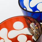 モダンなデザインに心惹かれる。「蒲田切子」のグラス...
