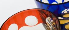 「蒲田切子」のグラス