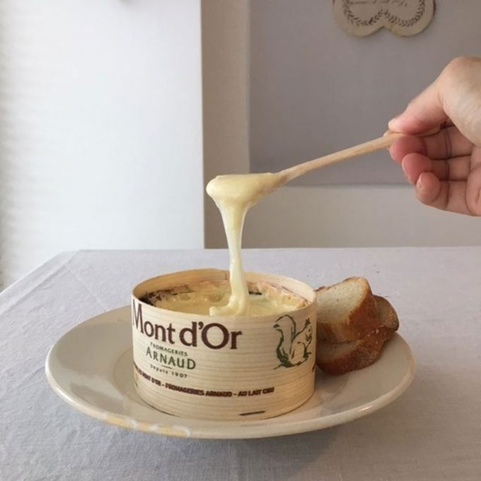 サンデーフロマージュとろける冬季限定チーズ『モンドール