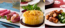 大根を使った3種類の料理の写真