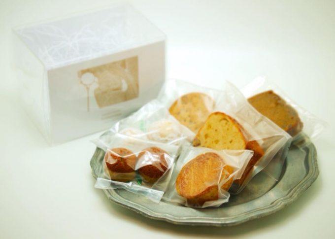 上品で優しい味の「Nowhereman」の焼き菓子詰め合わせボックス