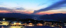 ふわふわの雪が降り積もる「スキージャム勝山」