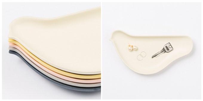 鳥の形がかわいい「TORIZARA」のお皿のカラーバリエーション