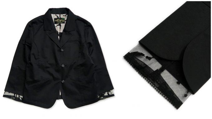 仕事でもプライベートでも使えるブラックのジャケット