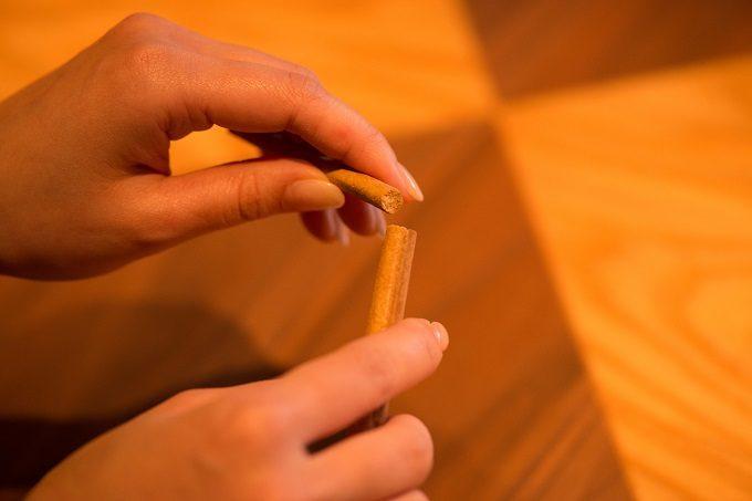 しっかりした歯ごたえと香ばしい食感を味わえるお箸