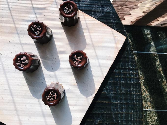 井上茶寮のカヌレ型ショコラ羊羹