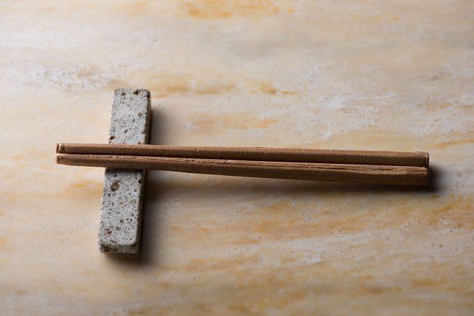 熊本産食用いぐさの粉末で加工したお箸