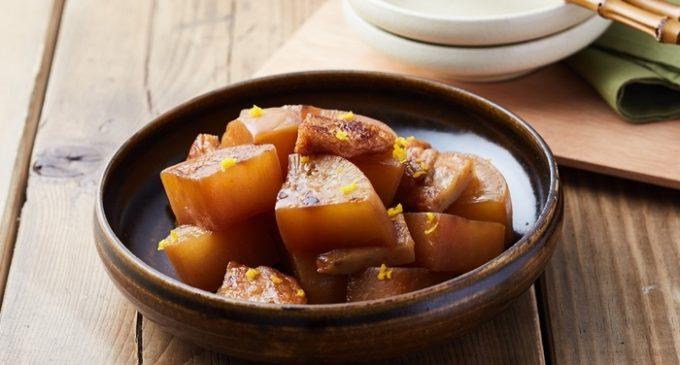 和食「鶏肉と大根の炒め煮」レシピ
