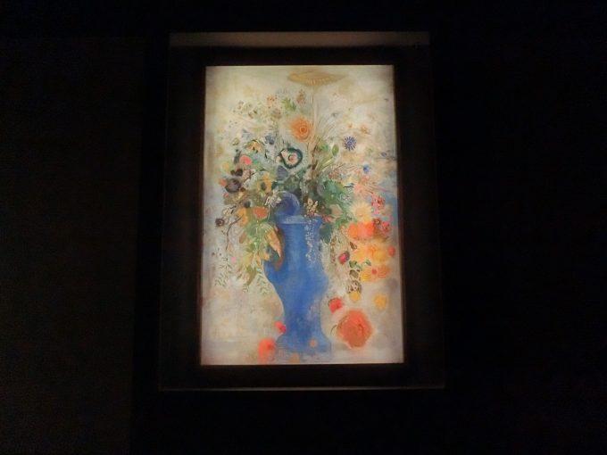 晩年のルドンが描いたパステル画《グラン・ブーケ》