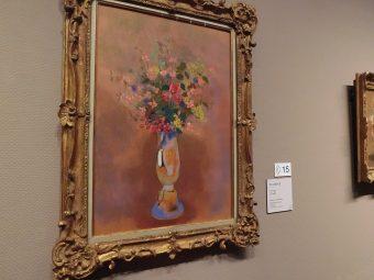 かつてフランスのお城の大食堂に飾られた16枚の絵画が集結。『ルドン−秘密の花園』