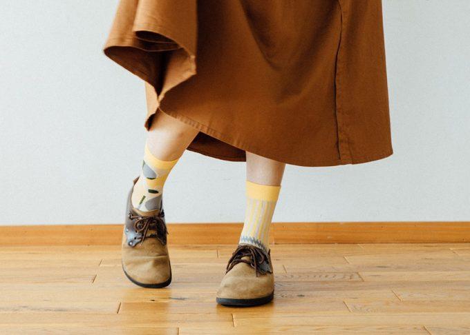おすすめ春靴下、「SoLo socks」のユニークな靴下