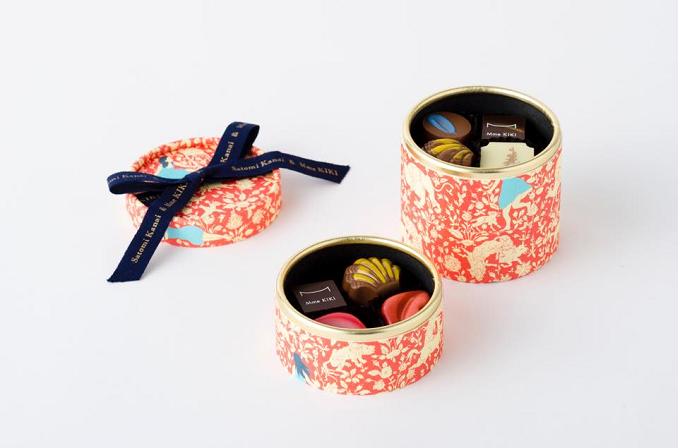 パティシエ金井聡美さんとのコラボ商品、美しいmonchocoモンショコ