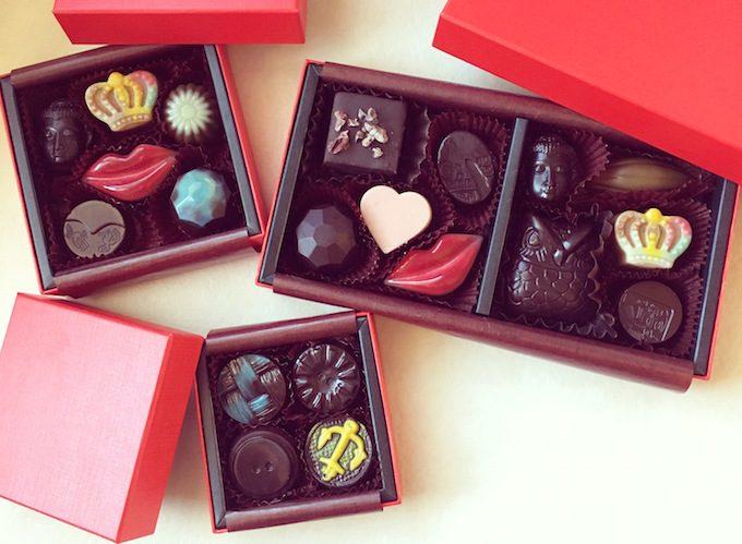 OJAS RAW CHOCOLATEのバレンタイン限定チョコレート