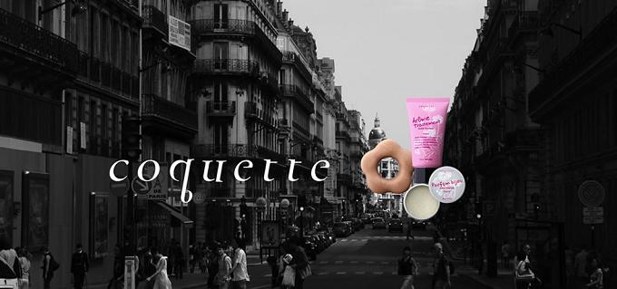 フランスの街並みとcoquette(コケット)