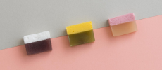 和と洋のコラボレーション マシュマロを使った和菓子