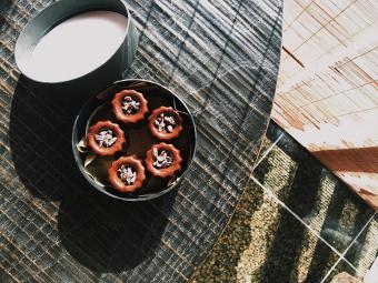 """バレンタイン限定。特別な日をお洒落に演出してくれる「井上茶寮」の""""ショコラ羊羹"""""""