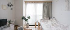 憧れのシンプルなお部屋が自分のものに。白がメインのインテリア実践アイディア