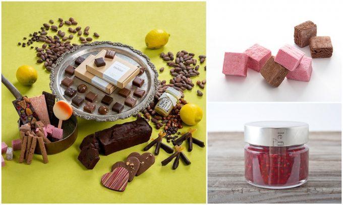 おいしくておしゃれなお菓子、「le fleuve」のチョコレート