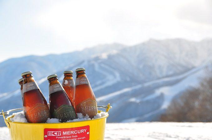 白馬岩岳の山々が見渡せる絶景