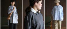 3種類のシャツのコーディネート