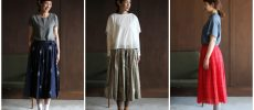 春夏のコーディネートに取り入れたいスカート3種