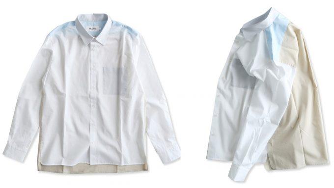 「ALOYE(アロイ)」のコットン100%のシャツ