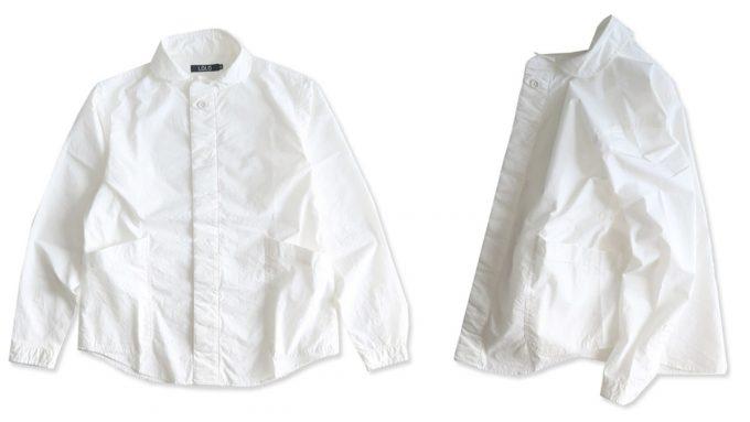 「LOLO (ロロ)」の白のプルオーバーシャツ
