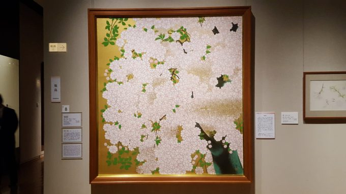 橋本 明治《朝陽桜》の写真